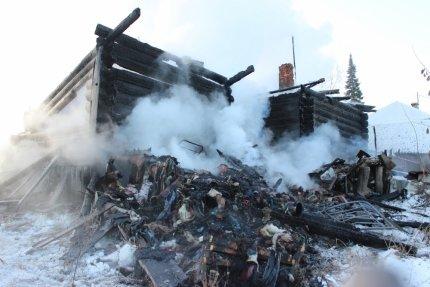 Жительница Ульяновской области спаслась из пожара, но осталась без дома. ФОТО, фото-1