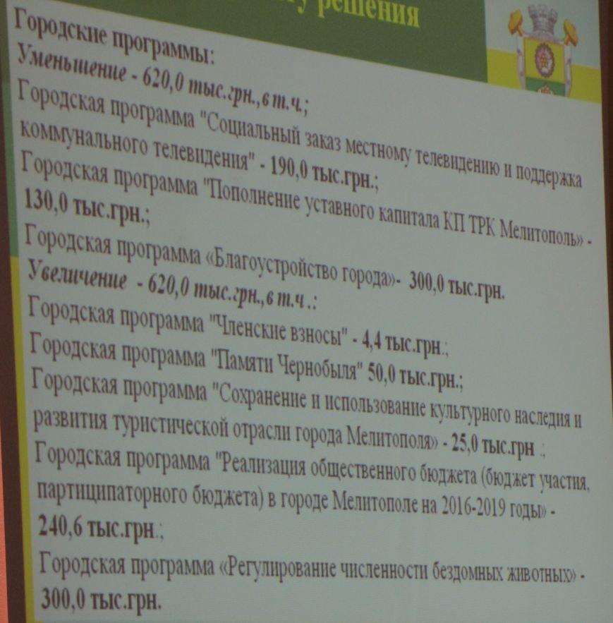 В Мелитополе под аплодисменты приняли бюджет-2017 (фото, видео), фото-1