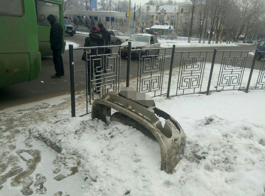 В Каменском произошло ДТП на пересечении проспектов Свободы и Аношкина, фото-2