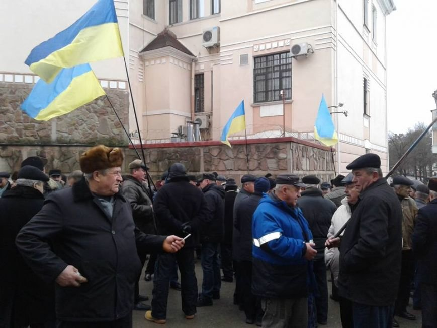 Хто та чому влаштував пікет біля Тернопільської ОДА? (фото), фото-2