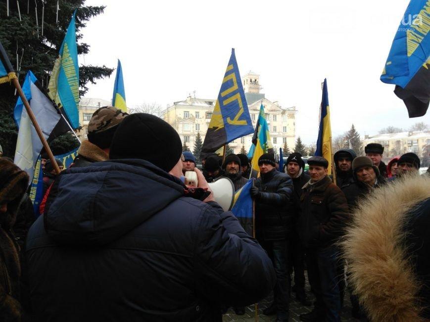 В Краматорске бастуют шахтёры, фото-1