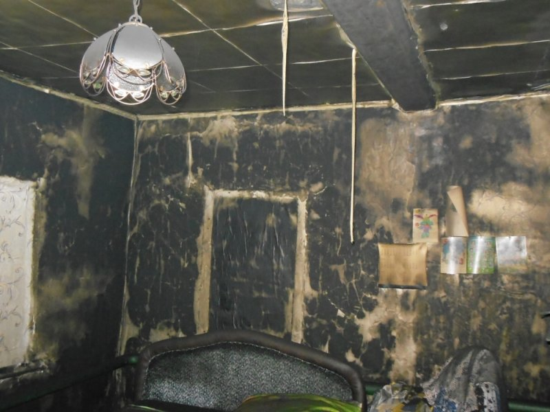 У ульяновца сгорел дом, пока тот был в магазине. ФОТО, фото-2
