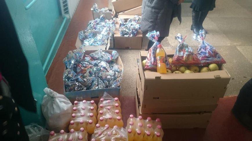 Детей, живущих в условиях войны, одарили подарками (фото), фото-3