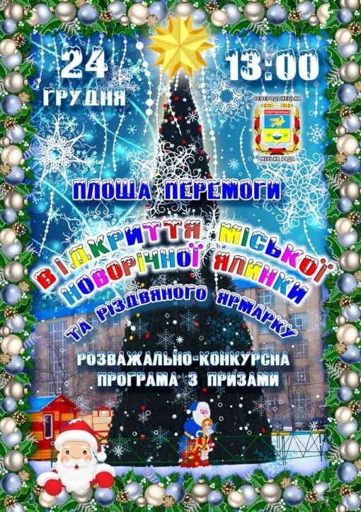В субботу Северодонецк зажжет новогодние огни, фото-1