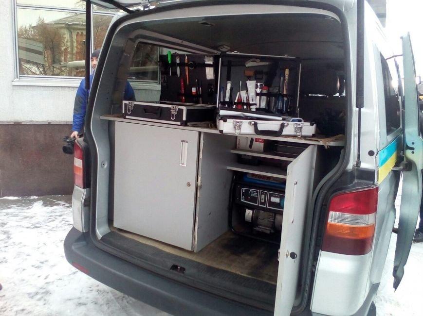 В Полтаве презентовали единственную в области криминалистическую лабораторию «на колесах», фото-2