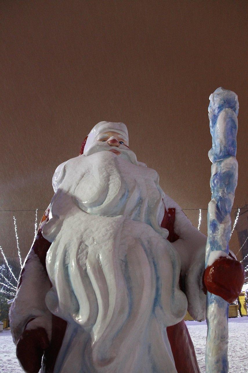 Как украсили центральную площадь Ульяновска. ФОТО, фото-5