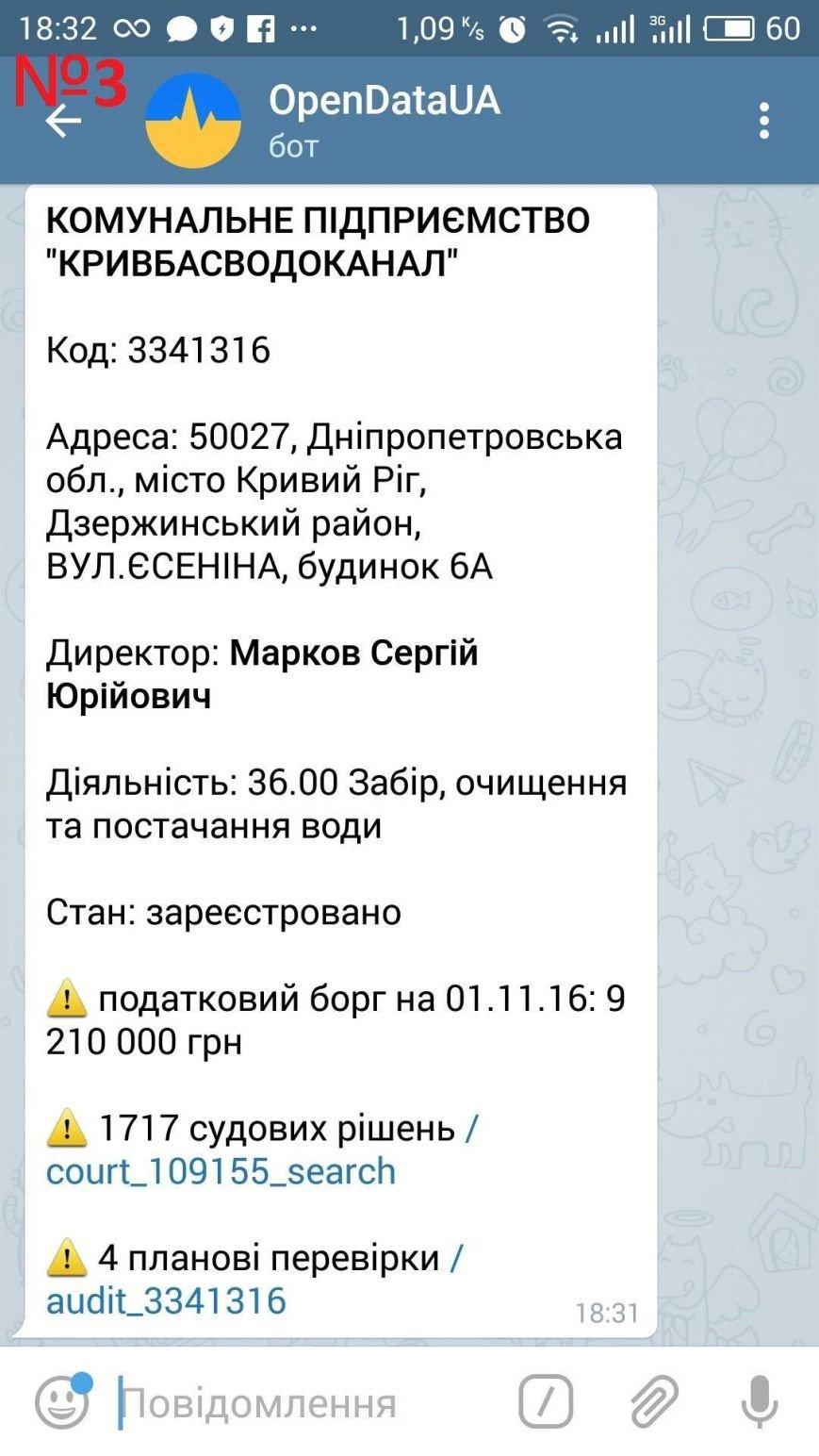 "На КП ""Кривбассводоканал"" выявлено нарушений на сумму более 8 миллионов гривен, фото-2"