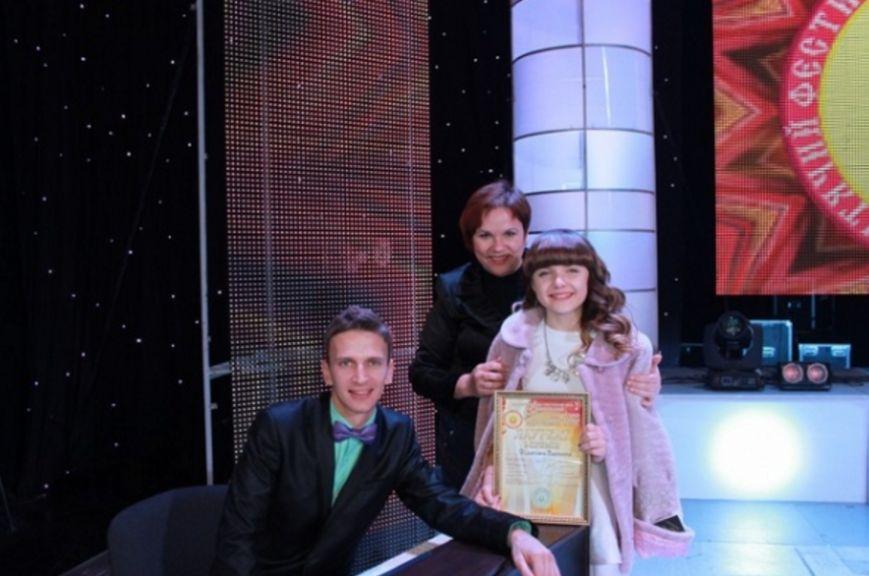 Вокалистка из Бахмута стала победительницей на Международном конкурсе в Ивано-Франковске, фото-2