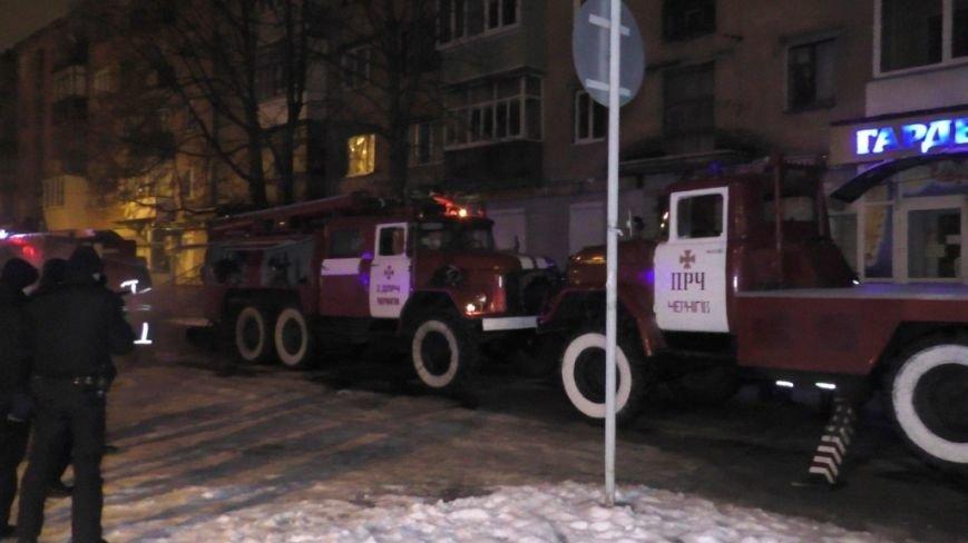 В Чернигове горела пятиэтажка, один человек погиб, фото-1