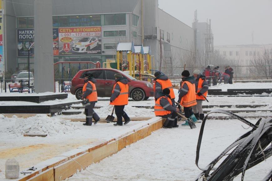 Каток в Мариуполе откроется через несколько дней (ФОТО), фото-7