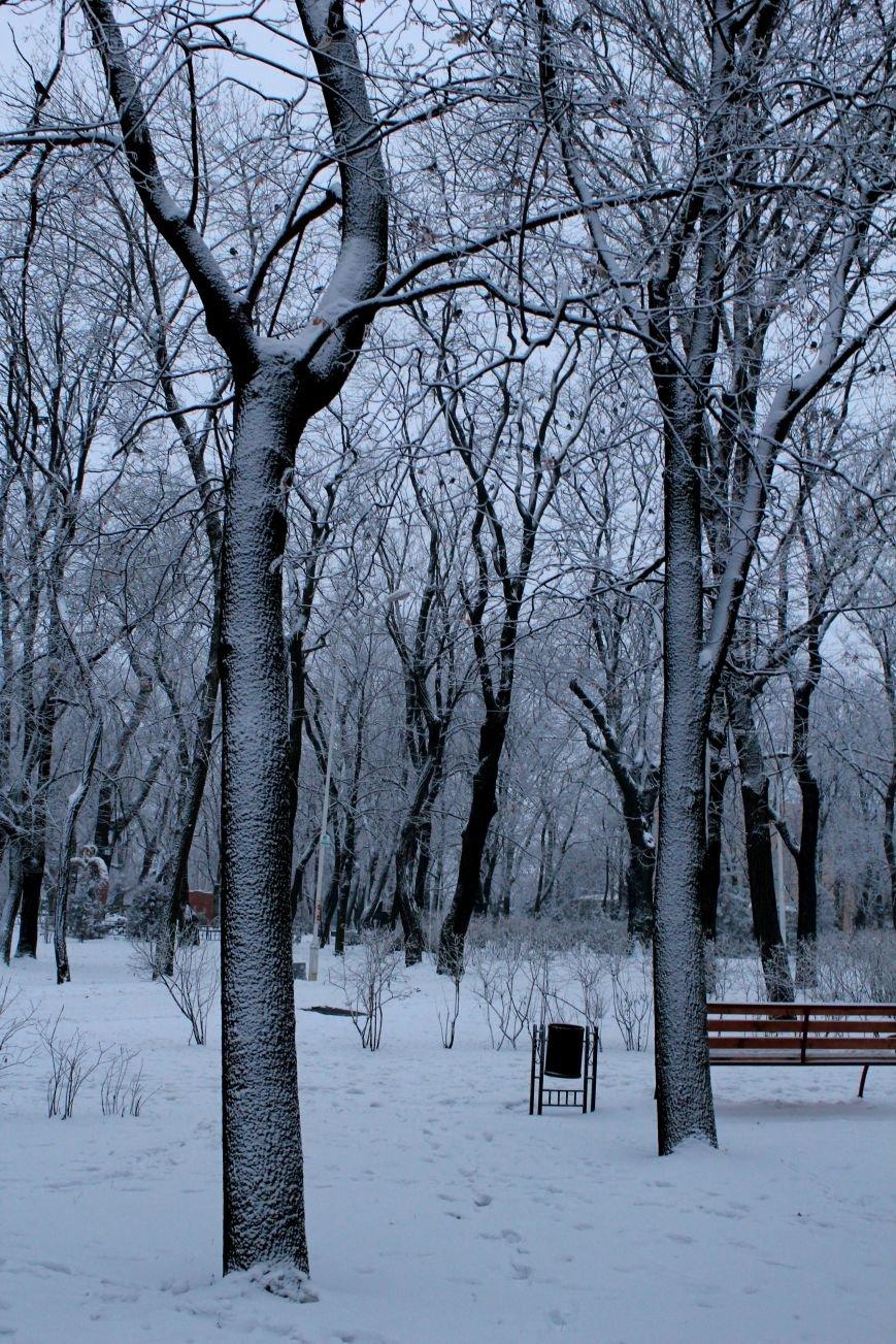 Мариуполь засыпало снегом (ФОТО), фото-6