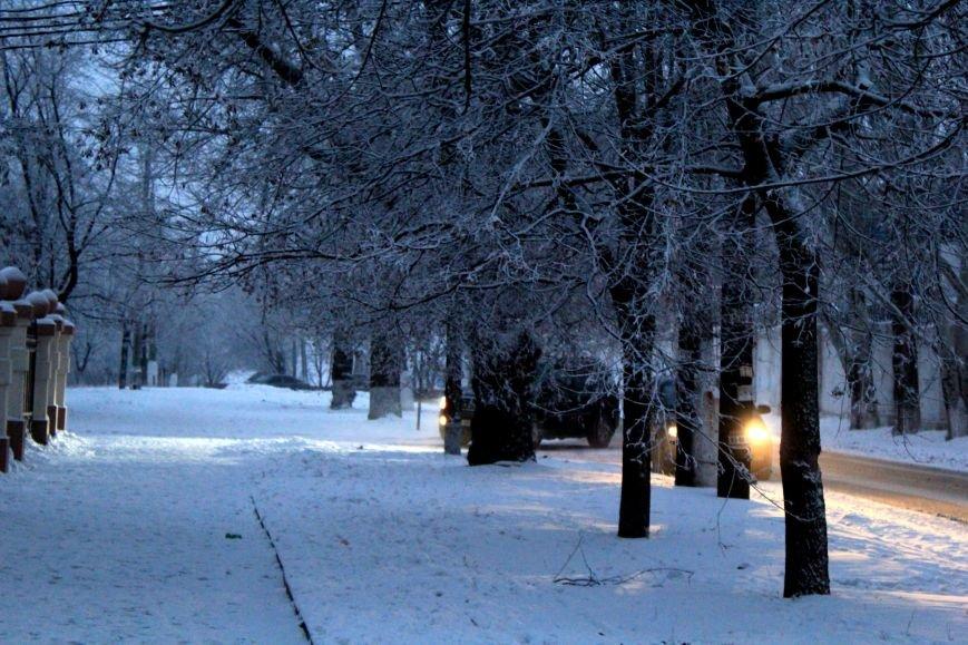 Мариуполь засыпало снегом (ФОТО), фото-11