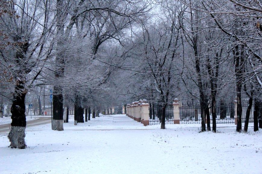 Мариуполь засыпало снегом (ФОТО), фото-1