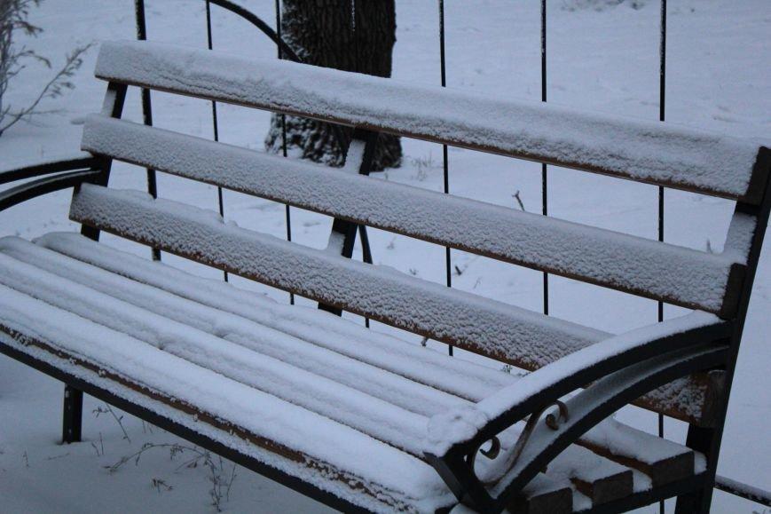 Мариуполь засыпало снегом (ФОТО), фото-5