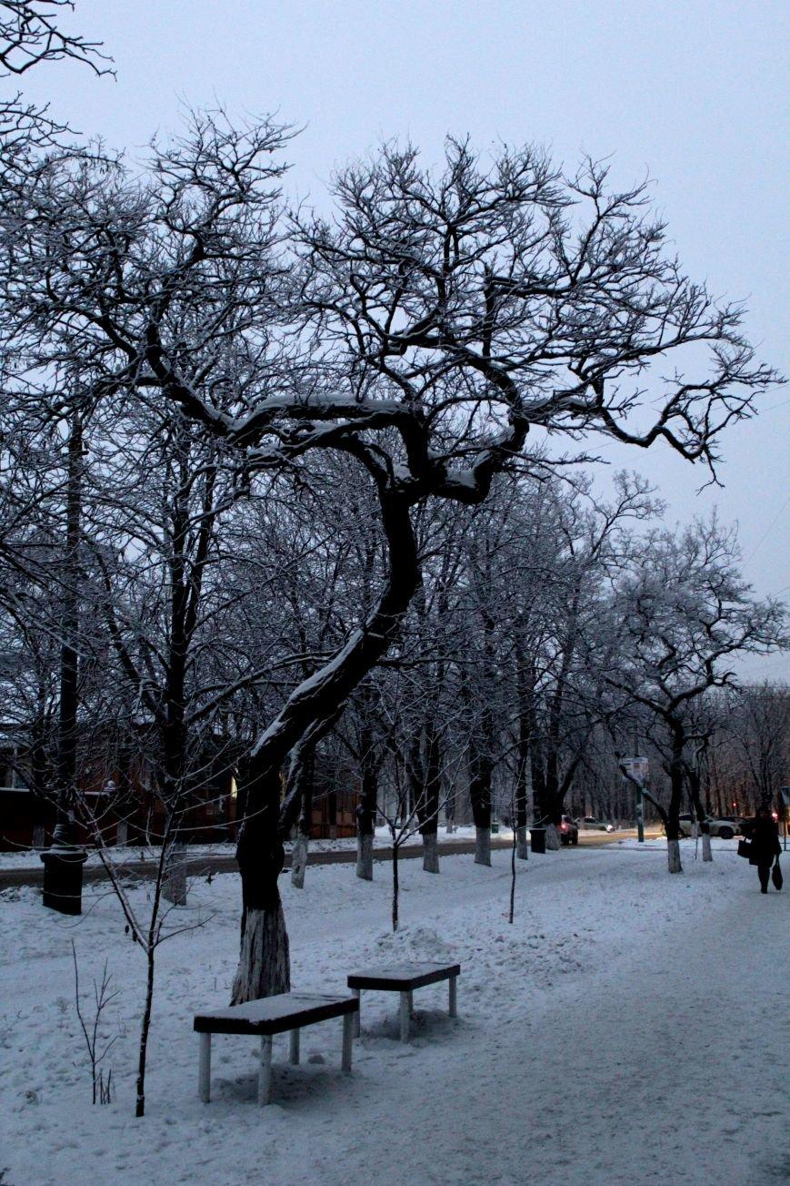 Мариуполь засыпало снегом (ФОТО), фото-12