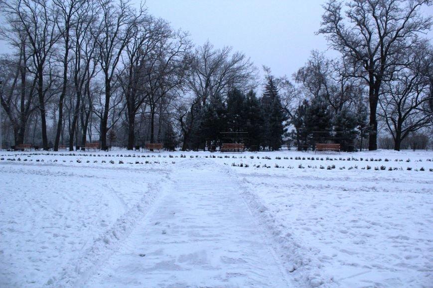 Мариуполь засыпало снегом (ФОТО), фото-9