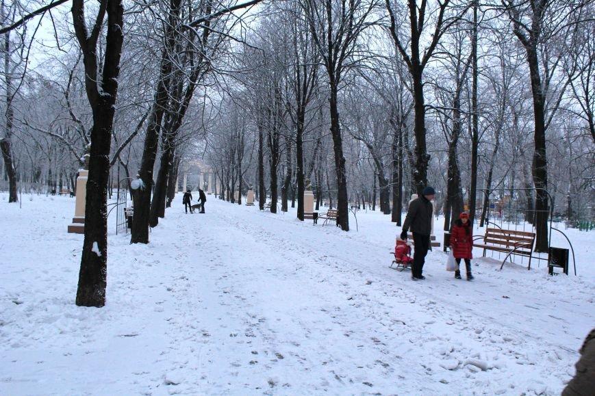 Мариуполь засыпало снегом (ФОТО), фото-7