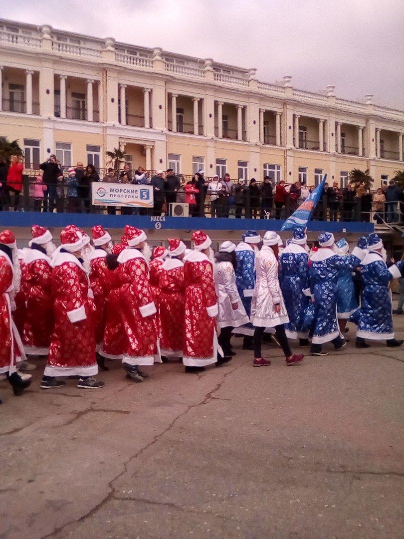 ВИДЕО: в Ялте прошел «Мороз-парад», фото-8