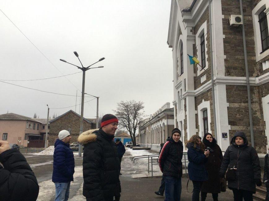 На вокзале Кривого Рога советской песней помянули СССР (ФОТО), фото-5
