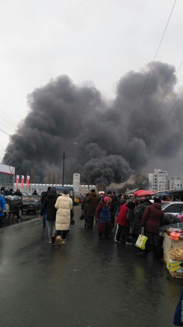 В Деснянському районі Києва сталася масштабна пожежа ФОТО,ВІДЕО (оновлюється), фото-2