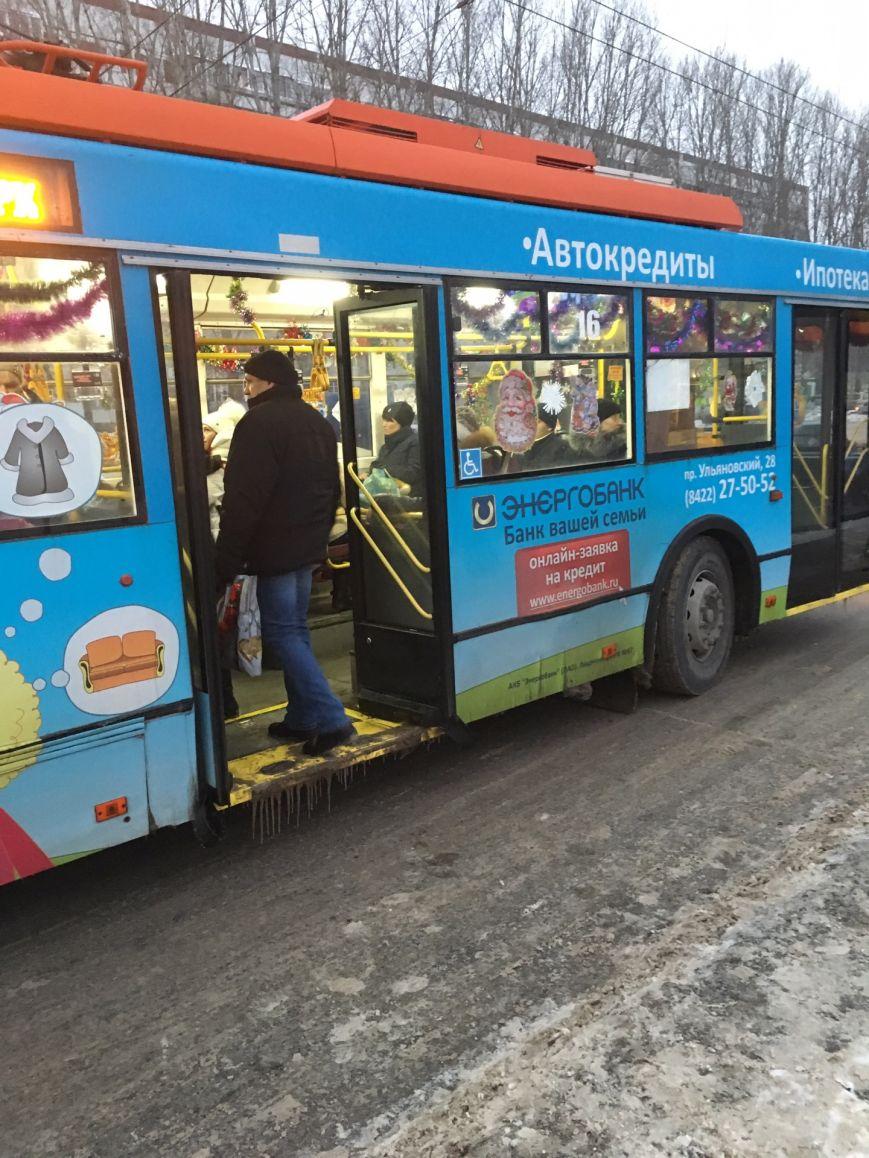 Новогодние троллейбусы появились в Заволжье, фото-5