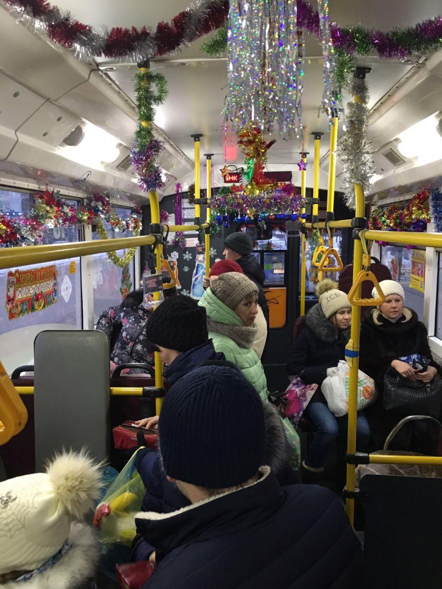 Новогодние троллейбусы появились в Заволжье, фото-2