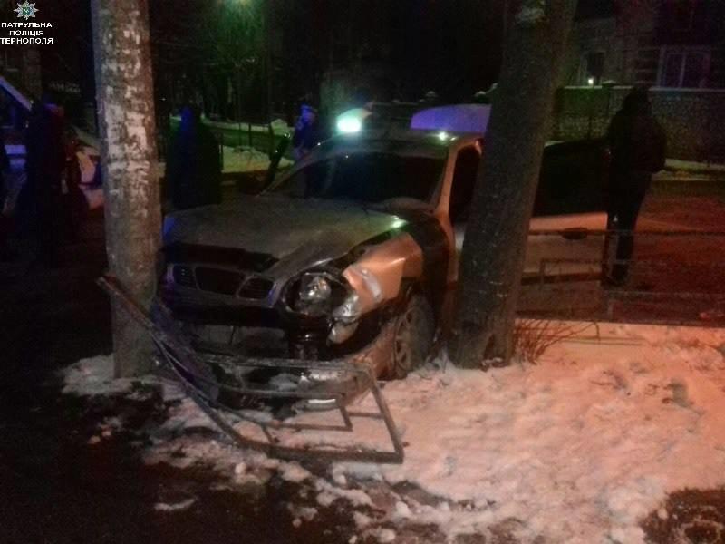 Вночі під час ДТП автомобіль в'їхав у дерево (ФОТО), фото-2