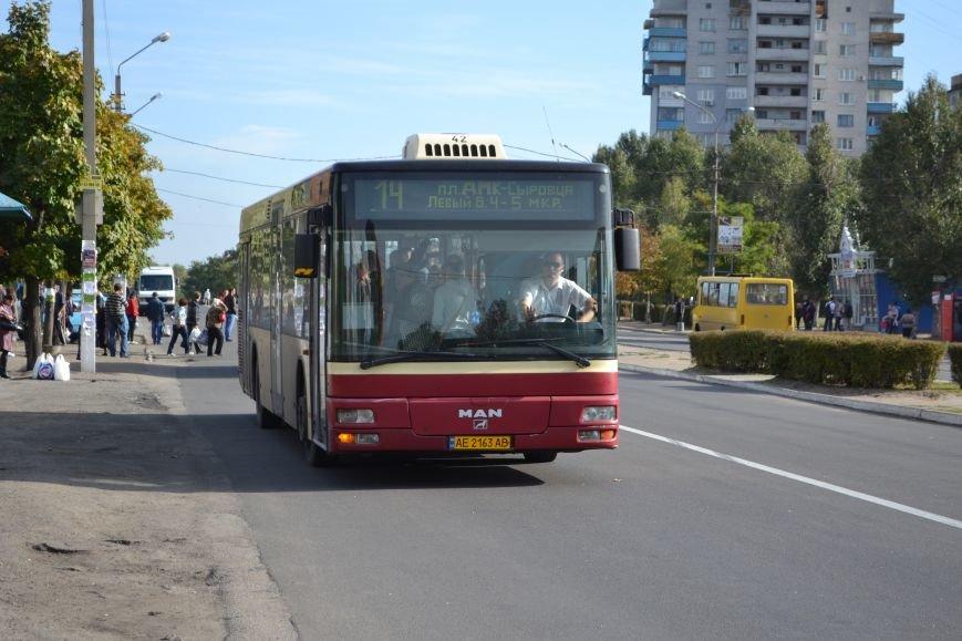 В Каменском на маршрут №14 выйдут автобусы Mercedes-Benz, фото-1