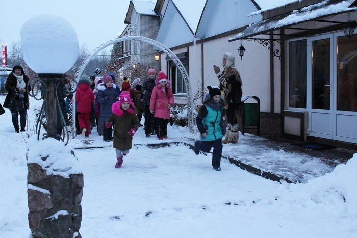 Новогодние приключения в витебском лесу: дети «зажигают» - родители отдыхают, фото-6