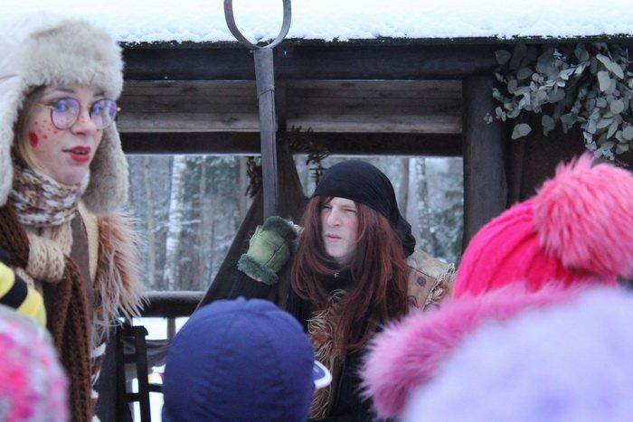 Новогодние приключения в витебском лесу: дети «зажигают» - родители отдыхают, фото-4