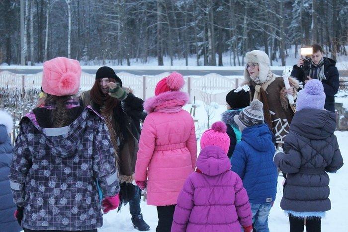 Новогодние приключения в витебском лесу: дети «зажигают» - родители отдыхают, фото-5