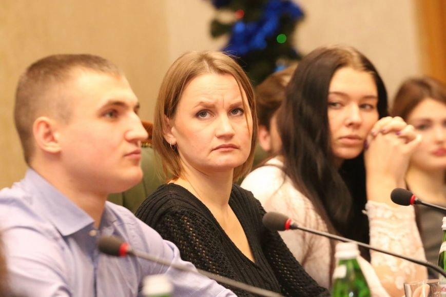 Студенты Каменского встретились с главой облсовета, фото-2