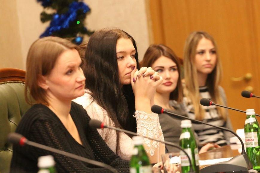 Студенты Каменского встретились с главой облсовета, фото-1