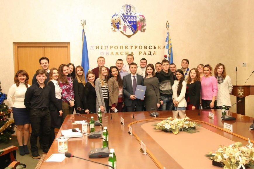 Студенты Каменского встретились с главой облсовета, фото-4