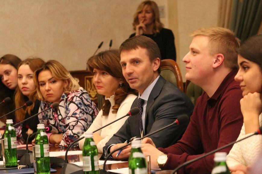Студенты Каменского встретились с главой облсовета, фото-5