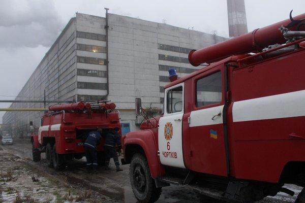 На Тернопільщині горів цукровий завод (фото), фото-1