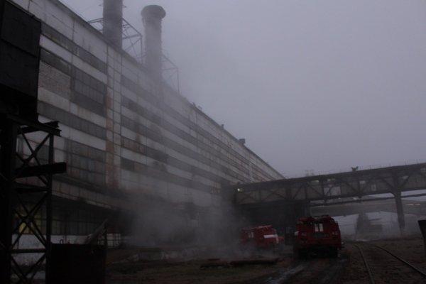 На Тернопільщині горів цукровий завод (фото), фото-2