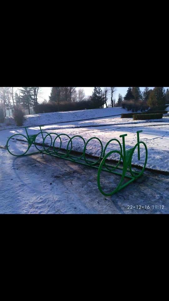 У Тернополі з'явились нові велопарковки (ФОТО), фото-4