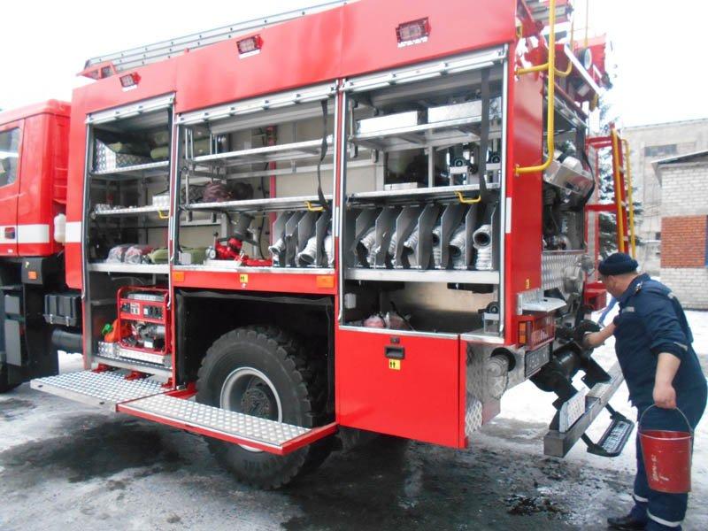 Пожарные Доброполья осваивают новый автомобиль, фото-1