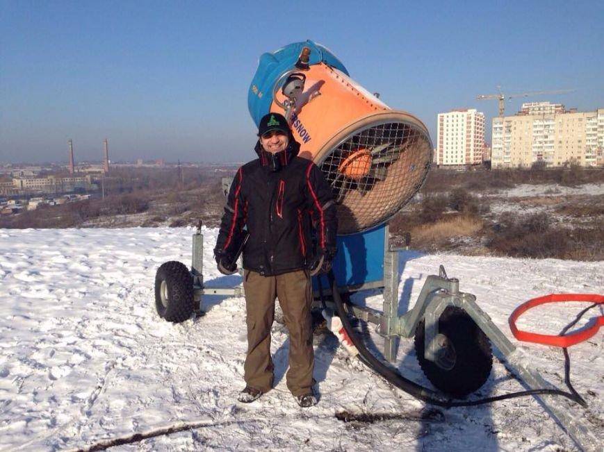 У Тернопіль привезли снігову гармату із новими технологіями, фото-2