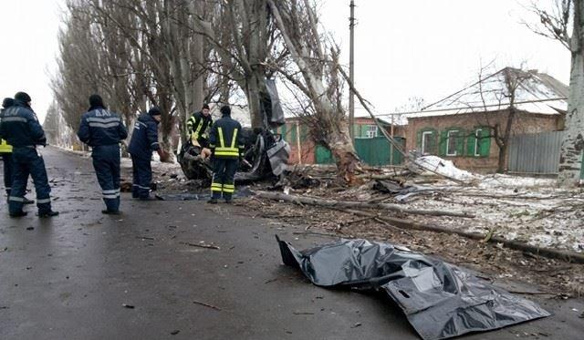 В Бахмуте в результате ДТП погибли два человека (ФОТО), фото-1
