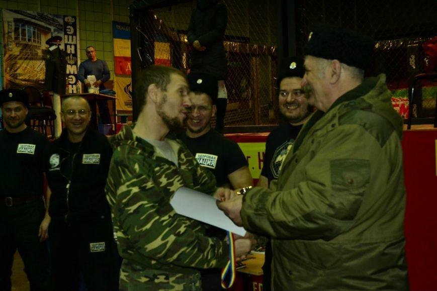С Атаманом Козицыным тренер Доценко