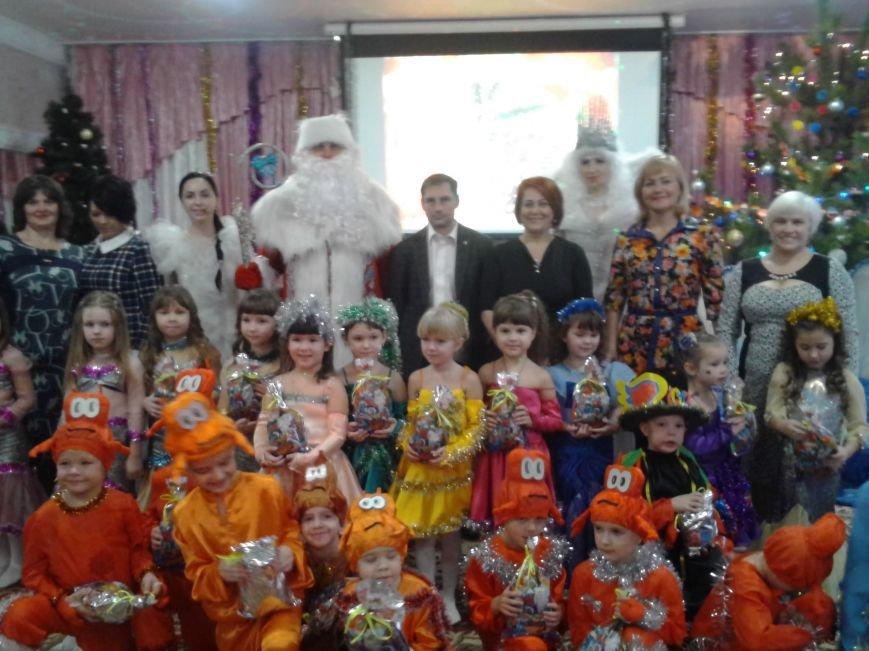 Секретарь Каменского горсовета посетил новогодний праздник в детском садике, фото-3