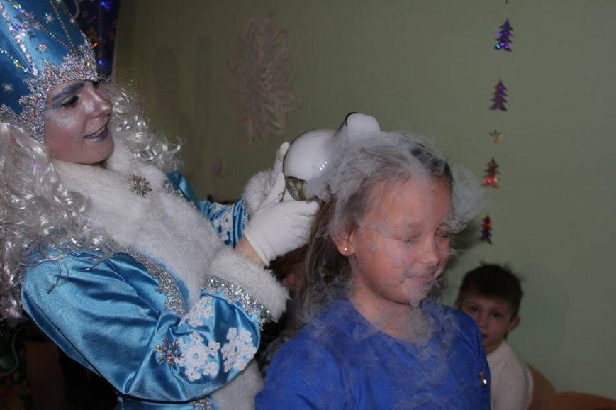 На детском утреннике устроили шоу с жидким азотом (фото), фото-2