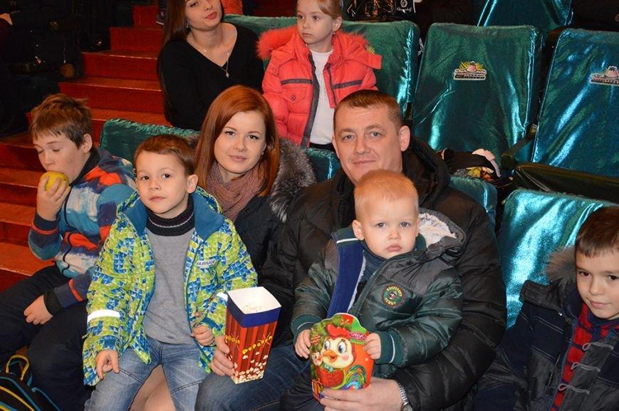 В Днепровском цирке детям спасателей уделили особое внимание (ФОТО), фото-3