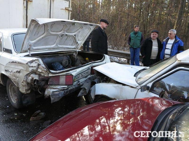 5 в 1: на об'їзній дорозі поблизу Броварів сталася аварія (Фото), фото-5