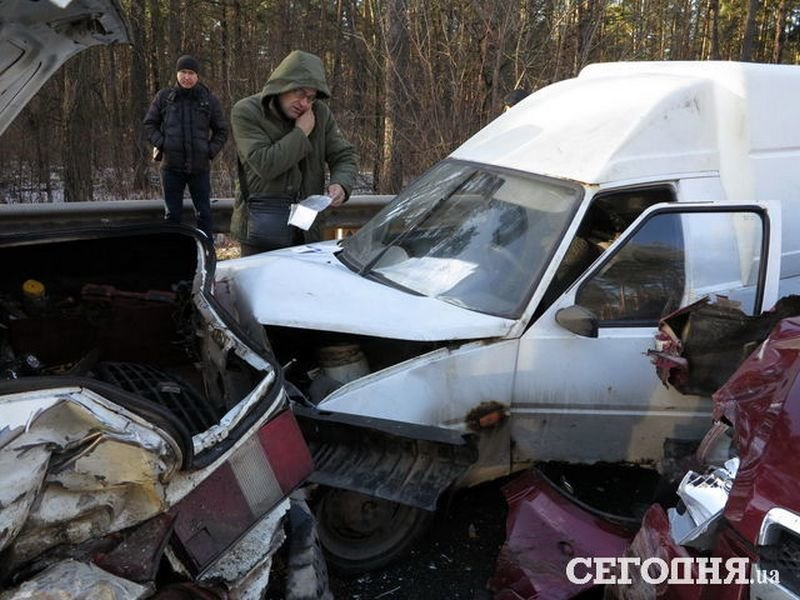 5 в 1: на об'їзній дорозі поблизу Броварів сталася аварія (Фото), фото-4