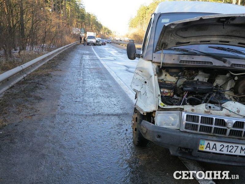 5 в 1: на об'їзній дорозі поблизу Броварів сталася аварія (Фото), фото-2