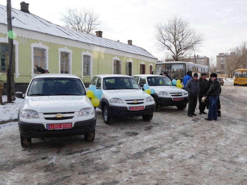 Школы Бахмутского района получили семь школьных автобусов, фото-9