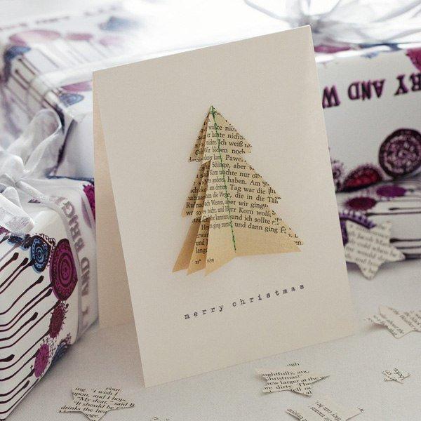 Варианты рождественских открыток, фото-4
